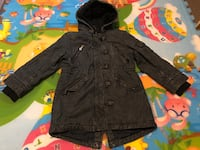 Girls denim winter parka jacket size 5-6 Calgary, T3J 5G8