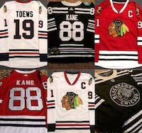 Chicago Blackhawks jerseys all players Chicago