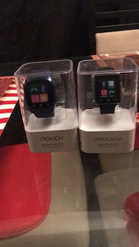 two black and gray digital watches with boxes Washington, 20019