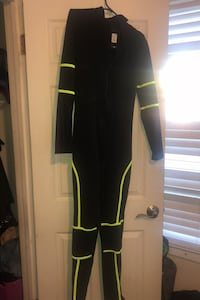 (Never worn)Black and neon green body suit  (size L but fits snug) San Mateo