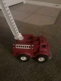 red and white plastic truck toy White City, 97503
