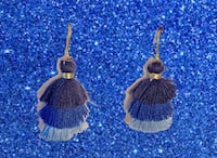 blue tassel earrings Washington, 20016