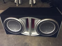 $162 firm no amp! Rockford fosgate pl2-212 400 watt  2 speakers car & audio box subwoofer