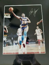 Magic Johnson autographed 11x14 mated and framed Queen Creek, 85142