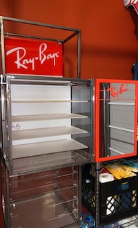 Ray Ban Sunglass Commercial Display Case ~ with hidden safe built in Fairfax, 22031