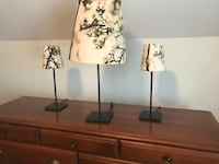 3 for $20 - 1 table lamp & 2 bedside lamps  Toronto, M1L 2K1