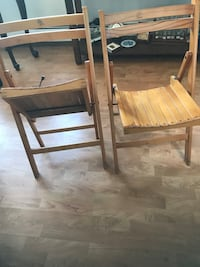 Two folding chairs. Excellent condition. $15 for both   Skokie, 60077