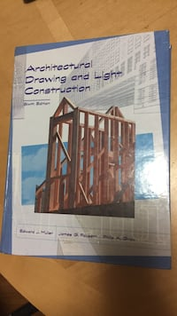 Architectural Drawing and Light construction book Toronto, M3A