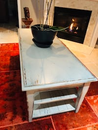 Italian distressed solid wood coffee table from Domain (negotiable)) Alexandria, 22312