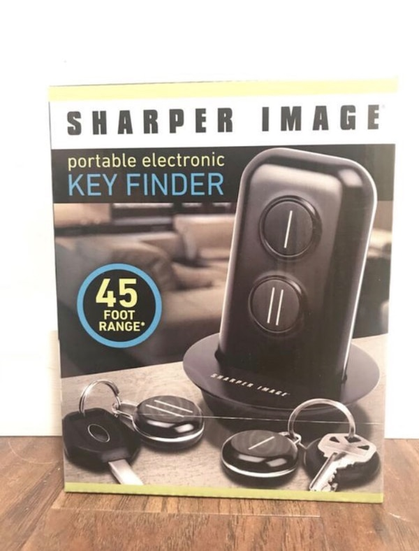 Used Brand New Sharper Image Portable Electronic Key Finder For Sale
