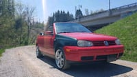 Volkswagen cabrio 2002 price negotiable  Markham
