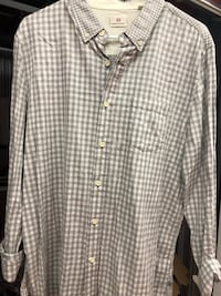 Large AG Button Up shirt Vancouver, V6H 1K1