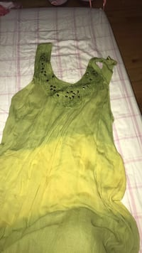 green summer dress one size fits all Moriches, 11955