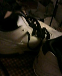pair of gray-and-white Nike basketball shoes Vallejo, 94590