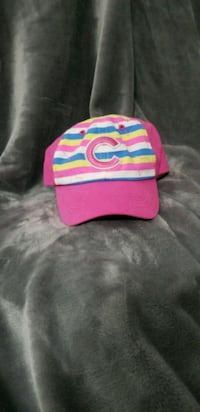 NEW!Cubs sports hat girl toddler Genuine MLB merch