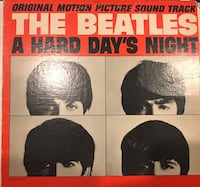 The Beatles A hard days night vinyl record. VG. Old pressing. 15$. Firm price Vaughan, L4L 8Y6