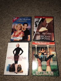 several assorted-title DVD cases White Plains, 42464