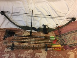 PSE bow with arrows/accessories