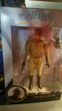 Rocketeer Action Figure and VHS Movie