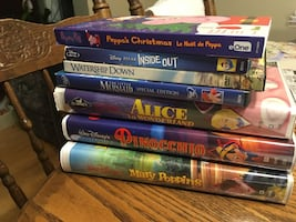Movies VHS and DVD