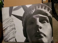 Canvas picture statue of liberty