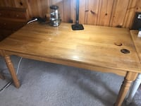 Wood table set with 3 chairs Lexington, 40508