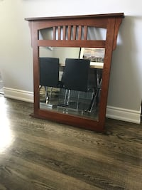 Beautiful Oak Mirror Burlington