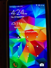 Samsung S5 cell phone with charger or New Westminster, V3L 3C2