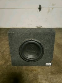 10 in diamond subwoofer and box. Can test on site.