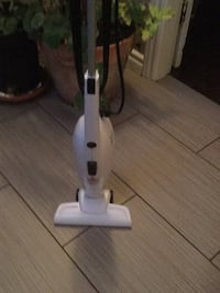 white and black upright vacuum cleaner Surrey, V3S 6M5