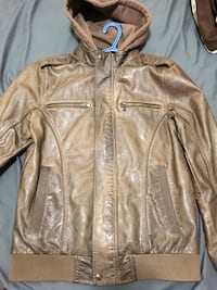 Guess Fall Leather Jacket