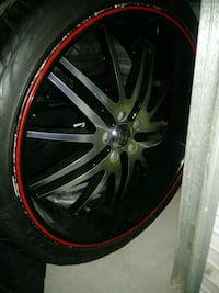 Velocity rims and tires  Las Vegas