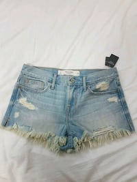 brand new Abercrombie & Fitch shorts size 2 w 26 Vancouver, V5S 2N8