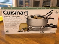 Cuisinart electric fondue set 32 km