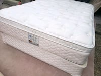 Double mattress pillowtop plus box 160$ delivery just 30. Edmonton, T5H 3C7