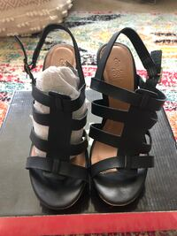 Women's size 7 black wedges  Manchester, 03102