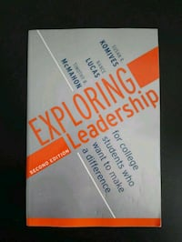 BOOK Exploring leadership for college students Toronto, M2R