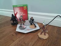 Disney Infinity action figures with Xbox One game  Orford, J1X 6Z6