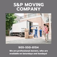We are professional movers,  $60  to $$75 an hr Pickering