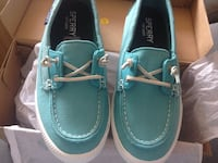 par de zapatos azules de Sperry Madrid, 28028