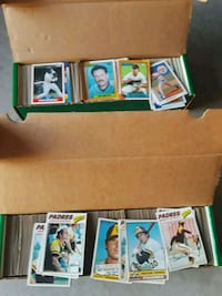 assorted baseball player trading cards Cabazon, 92230