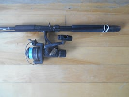 Fishing rod adreel Shimano on Shimano, ready