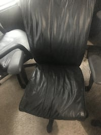 Lot of 2 Executive Leather Chair SitonIt Silver Spring