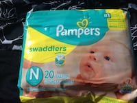 Pampers swaddlers disposable diaper pack Calgary
