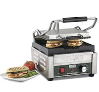 Waring Commercial WPG150 Compact Italian-Style Panini Grill, 120-volt 2402 mi
