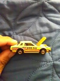 yellow and black coupe die-cast