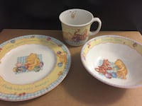 Royal Doulton Classic Pooh Child Dining Set MARKHAM