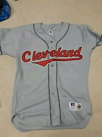 gray and red Chicago Bulls jersey shirt