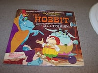 Rare - THE HOBBIT - Disneyland RECORD includes 12 page booklet Vaughan