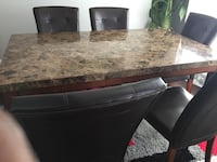 Marble 6 Seater Dining Set Calgary, T3P 0G4